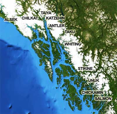 Southeast Alaska's river systems