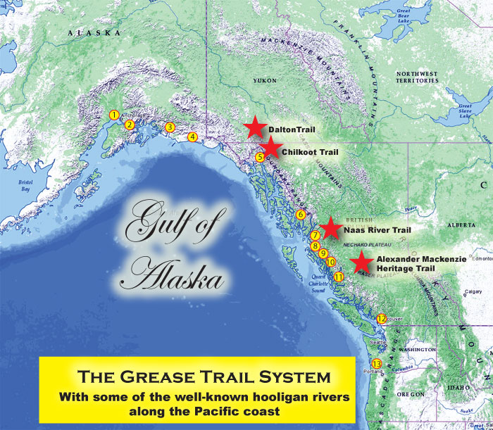 Grease Trails on the Pacific Coast