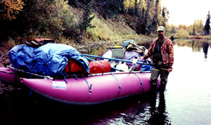 Michael Strahan float hunting a very remote river in Alaska's Game Management Unit 19