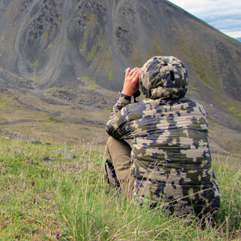 Kudu super down jacket and pants Alaska field test