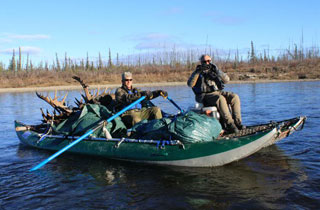 AIRE Cougar on a remote Alaska float hunt