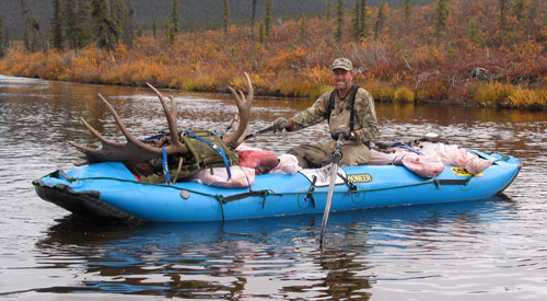 SOAR Pro Pioneer on a remote Alaska hunt