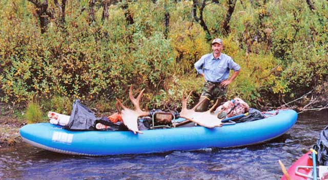 AIRE Traveler on a remote moose hunt in Alaska