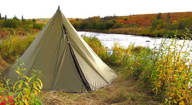 eight-man Kifaru tipi & Kifaru Tipi Review   Alaska Gear Reviews - Alaska Outdoors Supersite